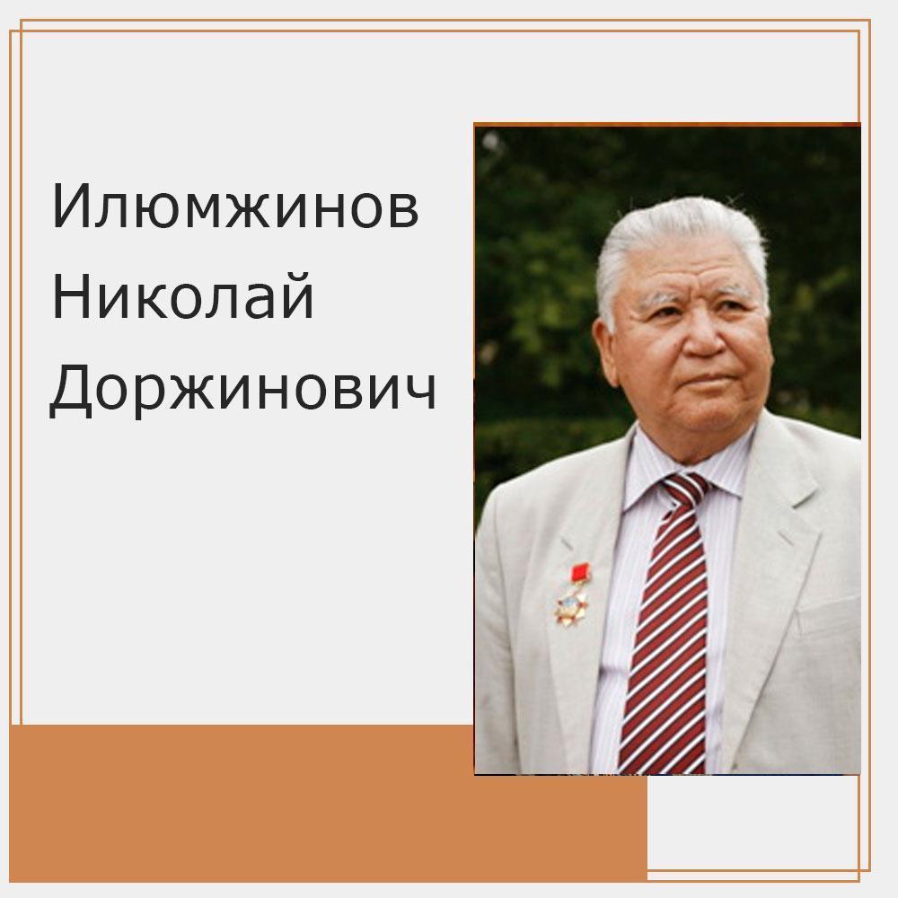Илюмжинов Николай Доржинович