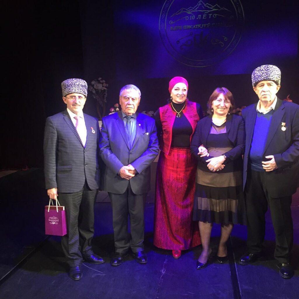 Презентация сборника кавказских поэтов