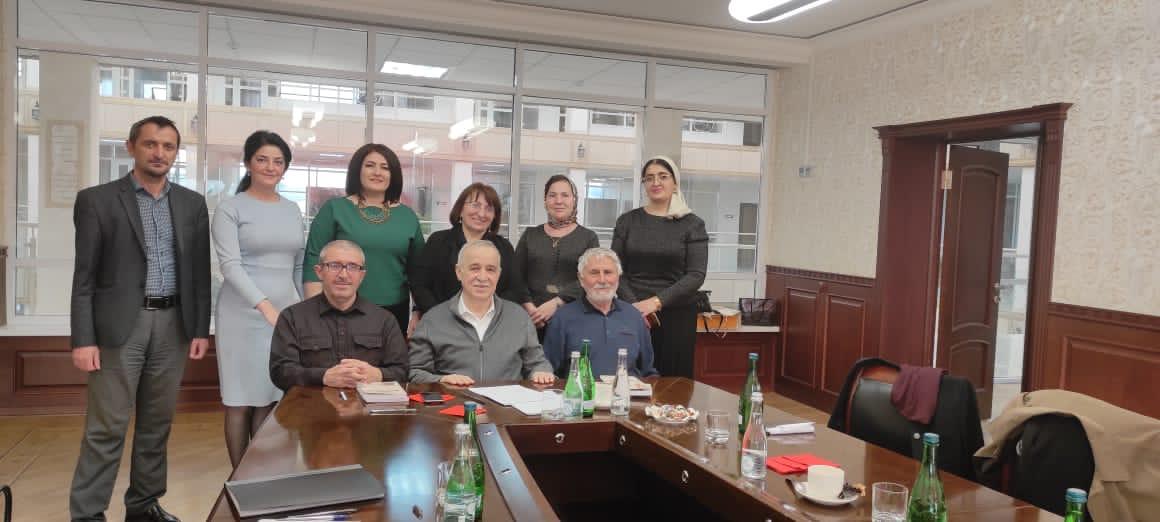 Заседание Президиума Клуба писателей Кавказа в Грозном